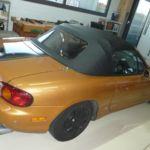 Verdeckwechsel Mazda
