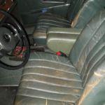 Mercedes Benz W108 Neuerstellung Interieur vorher_Renewal Interior before