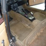 Neuerstellung Teppichsatz Rover vorher_Renewal Carpetkit Rover before