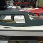 Restauration Lamborghini Espada Armaturenbrett nahher_Restoration Lamborghini Espada Paneling after