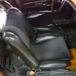 Teilrestauration 911 T Sitze vorher_Parial Restoration 911T Seats before