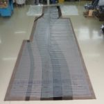 Falcon900 Neuerstellung Kabinenteppich_Manufacturing Cabin Carpet