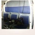 Neuerstellung Interieur Helicopter Bo105 - Rücksitzbank vorher