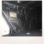 Neuerstellung Interieur Helicopter Bo105 - Seitenverkleidung Baggage nachher