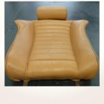 Restaurierung Lambo Sitzbezug originalgetreu vorher_Restoration Seatcover original before