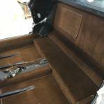 Restaurierung Lamborghini Silhouette Teppichauskleidung nachher_Restoration Lambo Silhouette Carpet after
