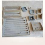 komplette Neuerstellung_Refurbishment King Air 1900 Airliner - Aufarbeitung diverser Kunststoffteile vorher