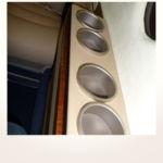 komplette Neuerstellung_Refurbishment King Air 1900 Airliner - Getränkehalter mit spezieller galvanischer Beschichtung nachher