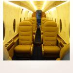 komplette Neuerstellung_Refurbishment King Air 1900 Airliner - Kabine nachher