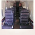 komplette Neuerstellung_Refurbishment King Air 1900 Airliner - Kabine vorher