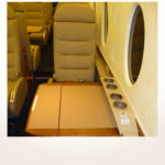 komplette Neuerstellung_Refurbishment King Air 1900 Airliner - Leisten mit Leder bezogen nachher