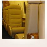 komplette Neuerstellung_Refurbishment King Air 1900 Airliner - PAX-Sitze & Clubbestuhlung aus Leder nachher