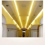 komplette Neuerstellung_Refurbishment King Air 1900 Airliner - Panels aus Alcantara nachher