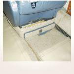 komplette Neuerstellung_Refurbishment King Air 1900 Airliner - Teppich vorher