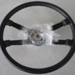 Neubezug Lenkrad Porsche 911 F nachher_Recover Wheel after