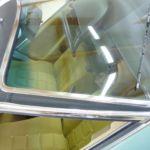Citroen CX Prestige Vinyldach nachher_Renewal Vinyl-Roof after