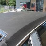 Citroen CX Prestige Vinyldach vorher _ Renewal Vinyl-Roof before