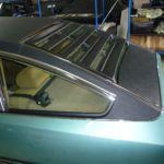Citroen CX Prestige Vinyldach nachher _ Renewal Vinyl-Roof after