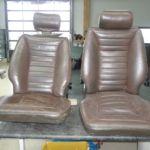 Restauration Lamborghini Espada Sitze vorher_Restoration Lamborghini Espada Seats before