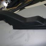 Tecnam P2006T Verkleidung nachher_Plastic Cover after