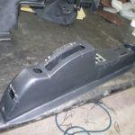 Tecnam P2006T Verkleidung vorher_Plastic Cover before